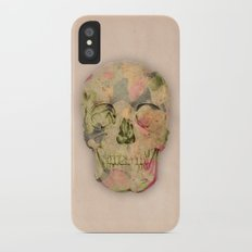 skull1 iPhone X Slim Case