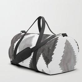 Del Rio Watercolor in Black and White Duffle Bag
