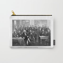 Our Presidents 1789 - 1881 Carry-All Pouch