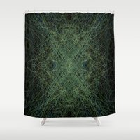 trippy Shower Curtains featuring Trippy by writingoverashes