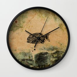 Piranha Wall Clock