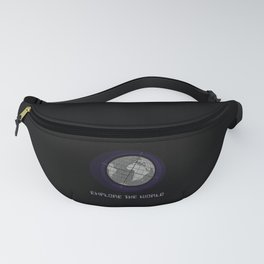 Explore The World Fanny Pack