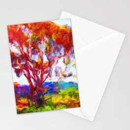 Colorful Eucalyptus - Help Fund Education for Impoverished Kids in Malawi, Africa @MoreThanAid Stationery Cards
