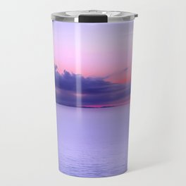 Sunset Indigo Mood Travel Mug
