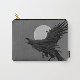 Crow & Moon Carry-All Pouch