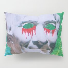 I open my eyes and all I see is darkness / VAPORWAVE Pillow Sham
