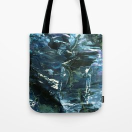 WATER WITH ICECUBES Tote Bag