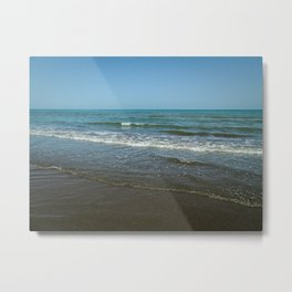 Caspian Sea Metal Print