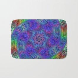Liquid rainbow Bath Mat