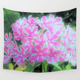Peppermint Twist Garden Phlox Wall Tapestry