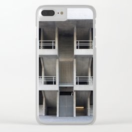 beton brut balconies - national theatre london Clear iPhone Case