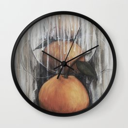 Tangerines Wall Clock