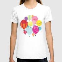 hot air balloons T-shirts featuring Hot air balloons by Tat Georgieva
