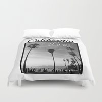 wiz khalifa Duvet Covers featuring California Love  by Gold Blood
