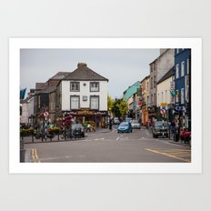 Kilkenny Town Art Print
