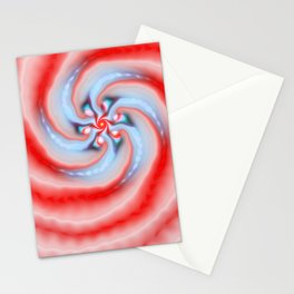 Peppermint Swirl Stationery Cards