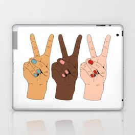 Peace Hands Laptop & iPad Skin