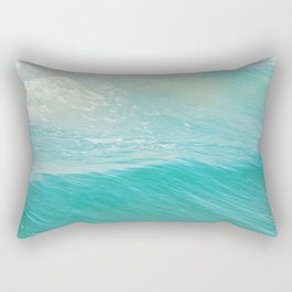 Beach photograph. Hermosa Beach. Lull Rectangular Pillow