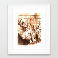 silent hill Framed Art Prints featuring Silent Hill a by Joseph Silver