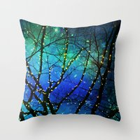 twilight Throw Pillows featuring twilight by Sylvia Cook Photography