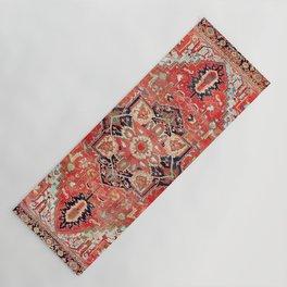 Heriz Azerbaijan Northwest Persian Rug Print Yoga Mat