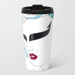 Taurus / 12 Signs of the Zodiac Metal Travel Mug