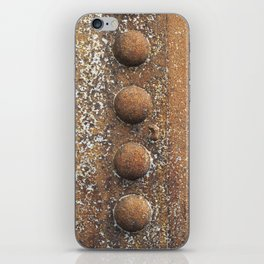Rivet heaven iPhone Skin