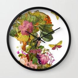 Magic Garden XI Wall Clock