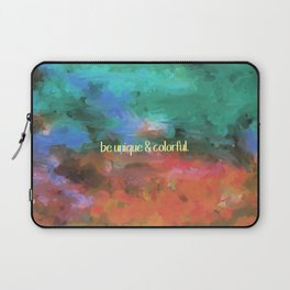 be unique and colorful Laptop Sleeve