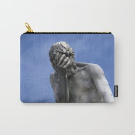 Contemplating Blue Skies Carry-All Pouch