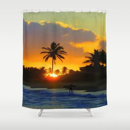 BEACH LIFE Shower Curtain