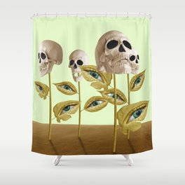Decadence Growth Shower Curtain