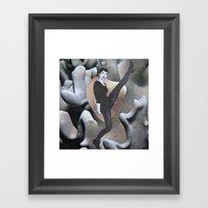 kick Framed Art Print