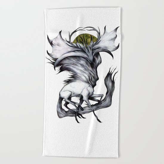 A Forest's Grace Beach Towel