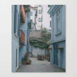 Zurich Alley II Canvas Print