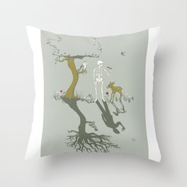 Alive & Well Throw Pillow