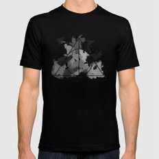 The Gifts Black and White Version Black Mens Fitted Tee MEDIUM