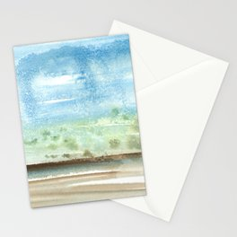 Left Coast Impressions 6 Stationery Cards