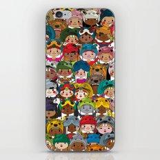 Happy kids iPhone & iPod Skin