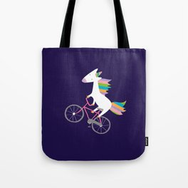 bike unicorn  Tote Bag
