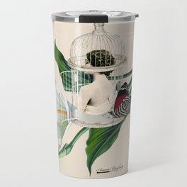 the cage door is always open Travel Mug