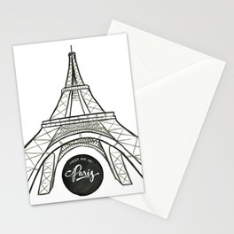 meet me in paris Stationery Cards