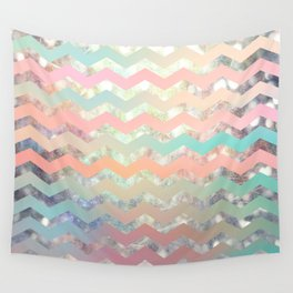 New World Chevron Pastel Wall Tapestry