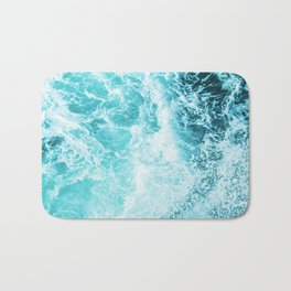 Perfect Sea Waves Bath Mat