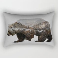 The Kodiak Brown Bear Rectangular Pillow