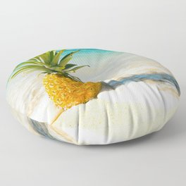 Pineapple Beach Floor Pillow