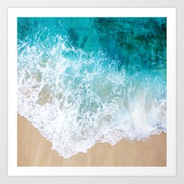BEAUTIFUL WAVES# Art Print
