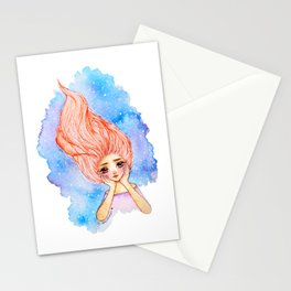 Galaxy Mind Stationery Cards