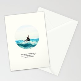 Surf Quote Stationery Cards