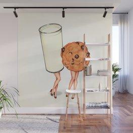 Milk & Cookie Pin-Ups Wall Mural